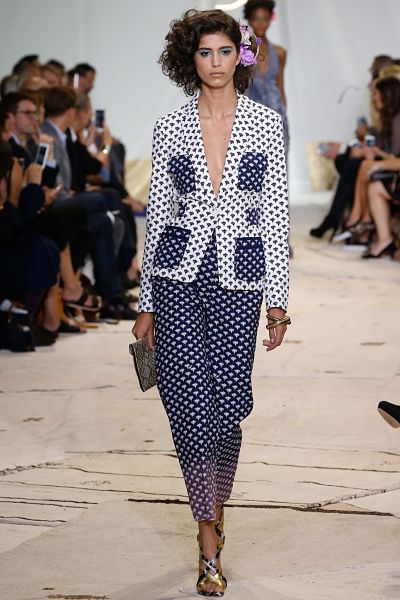 Diane von Furstenberg NEW YORK FASHION WEEK NYFW 2015