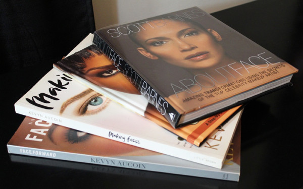 MAKEUP BOOKS